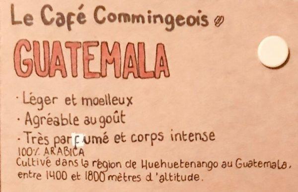 descriptif du café du guatemala