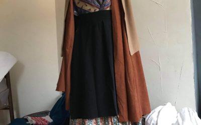 Exposition de vêtements traditionnels pyrénéens