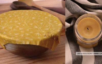 Atelier solutions zéro-déchet : Bee-Wraps et Bougies !