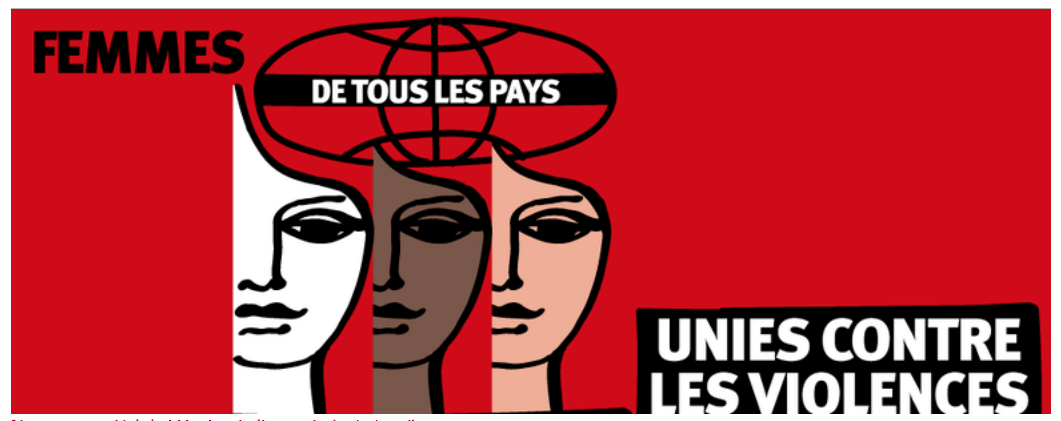 Journée internationale de lutte contre les violences faites aux femmes.