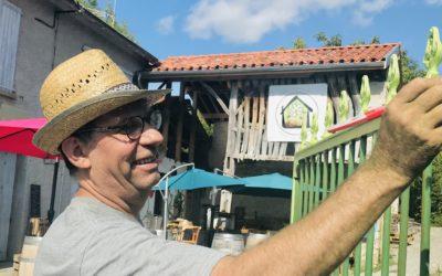 Thierry Wurtz, premier employé des Idées sont dans la Grange